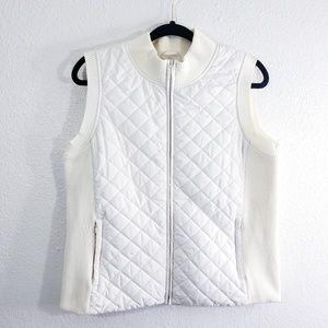 Pendleton Off White Vintage Puffer Vest Size L